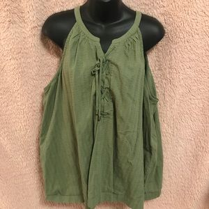 Olive green tank/cami